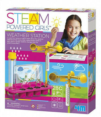4M 3820 Steam Powered Girls Weather Station Toy