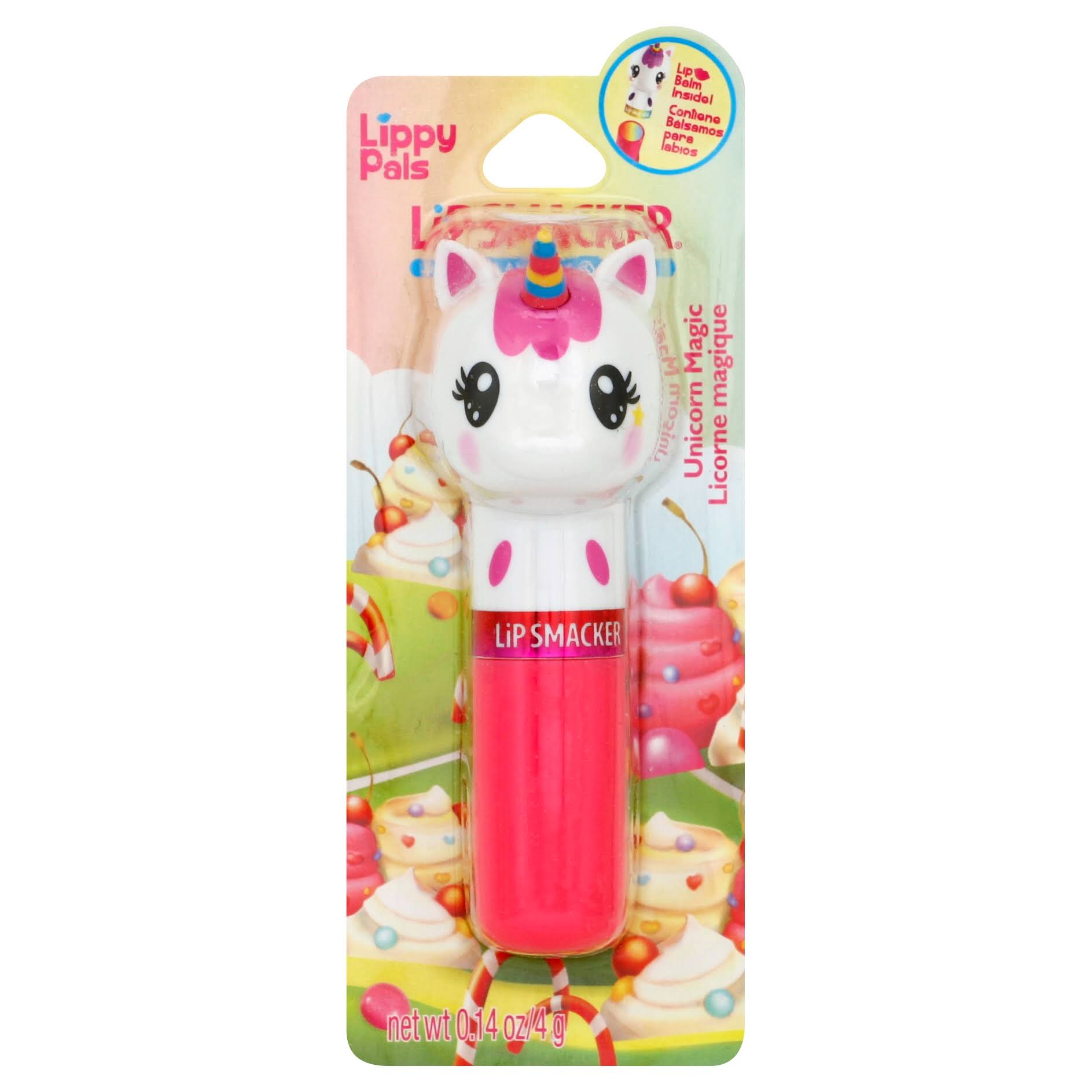 Lip Smacker Lip Balm - Unicorn Magic, 0.14oz