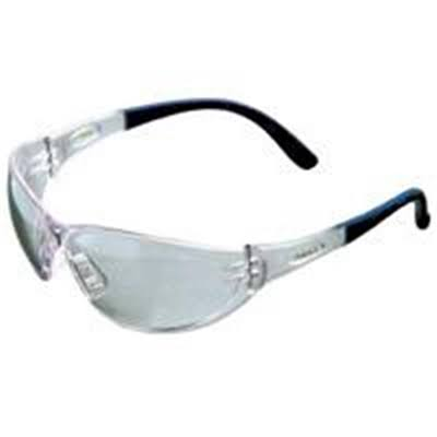 MSA Safety Works Contoured Clear Safety Glasses