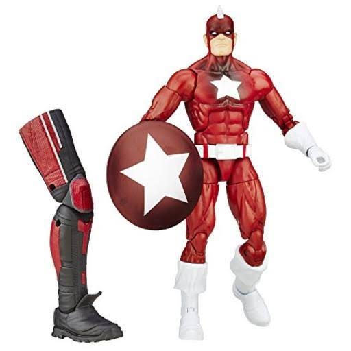 Marvel Legends Civil War Action Figure - Red Guardian, 6""