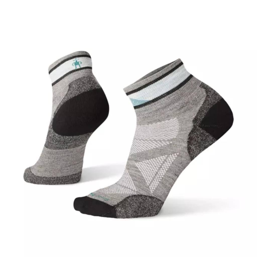 Smartwool PhD Pro Approach Mini Socks - Light Gray