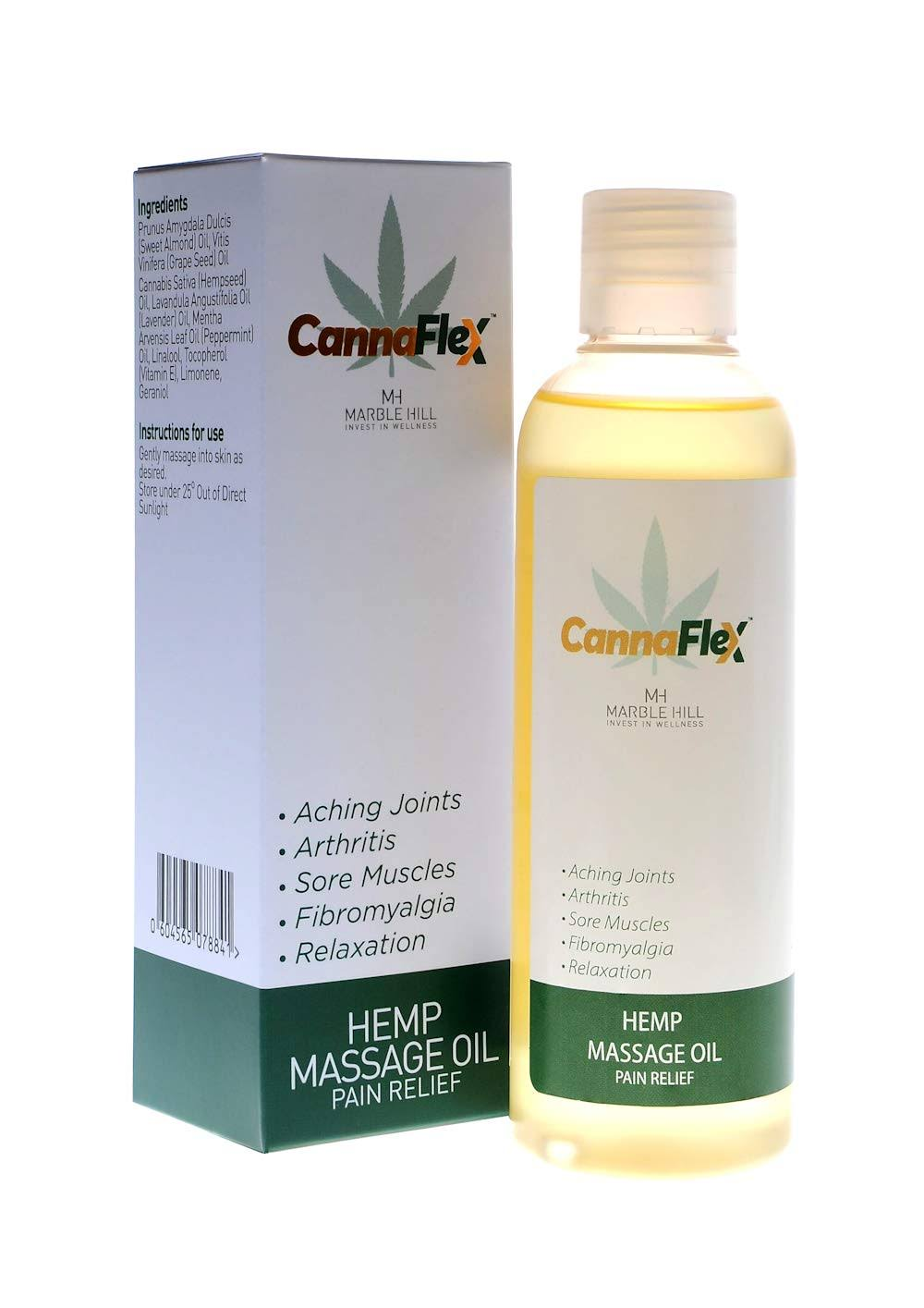 Marble Hill CannaFlex Hemp Massage Oil