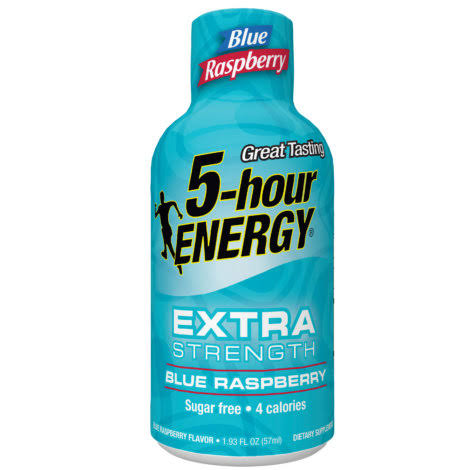 5 Hour Extra Strength Energy Drink - Blue Raspberry, 1.93oz