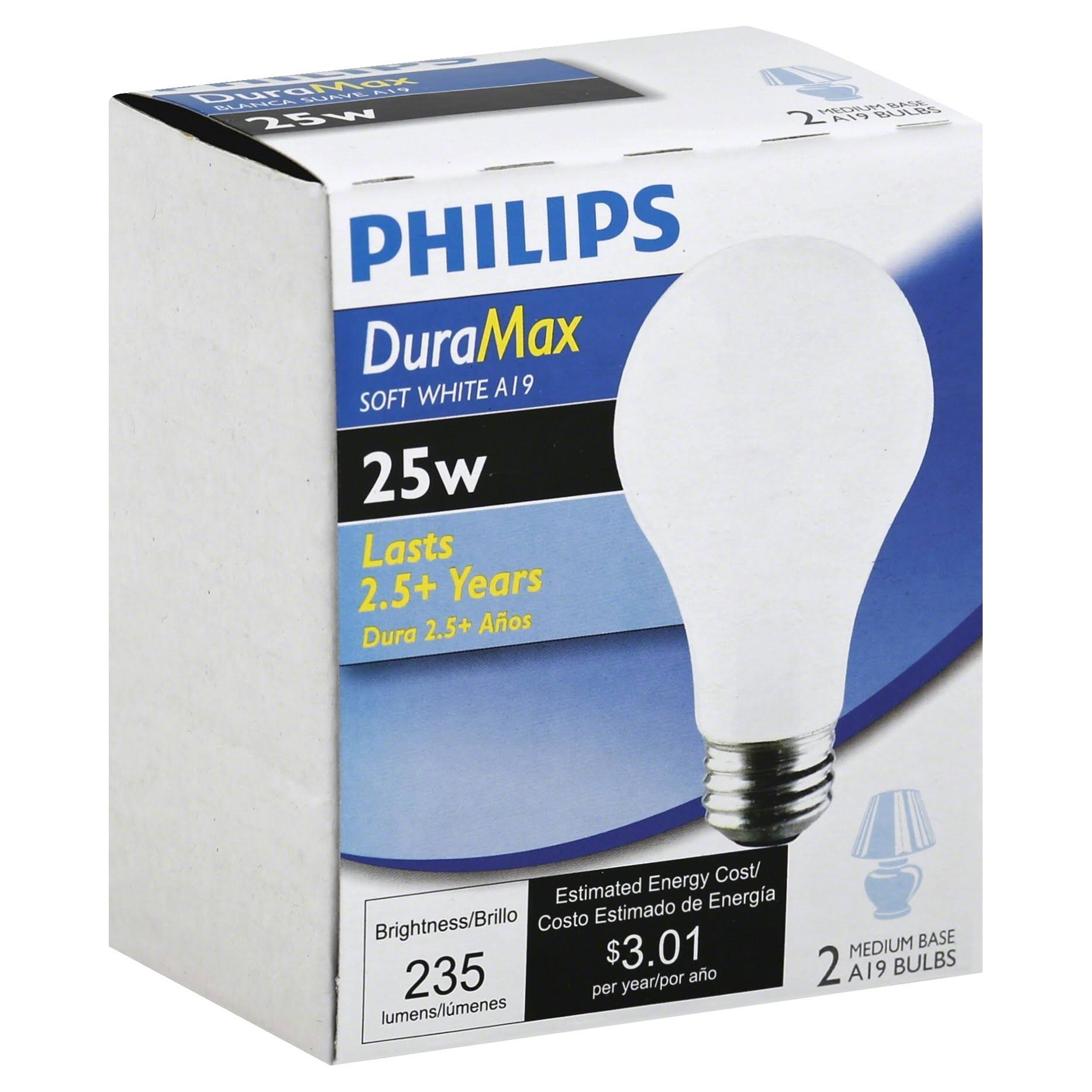 Philips Light Bulb - Soft White, 15W