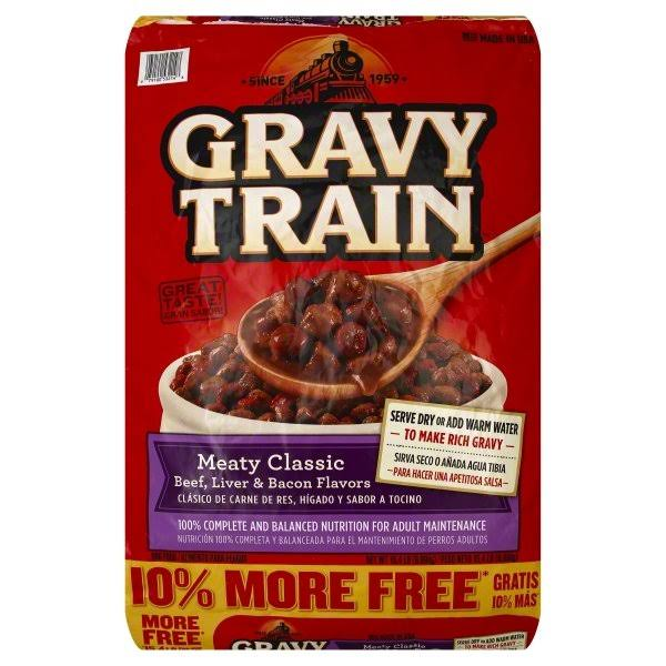 Gravy Train Dog Food, Meaty Classic - 15.4 lb