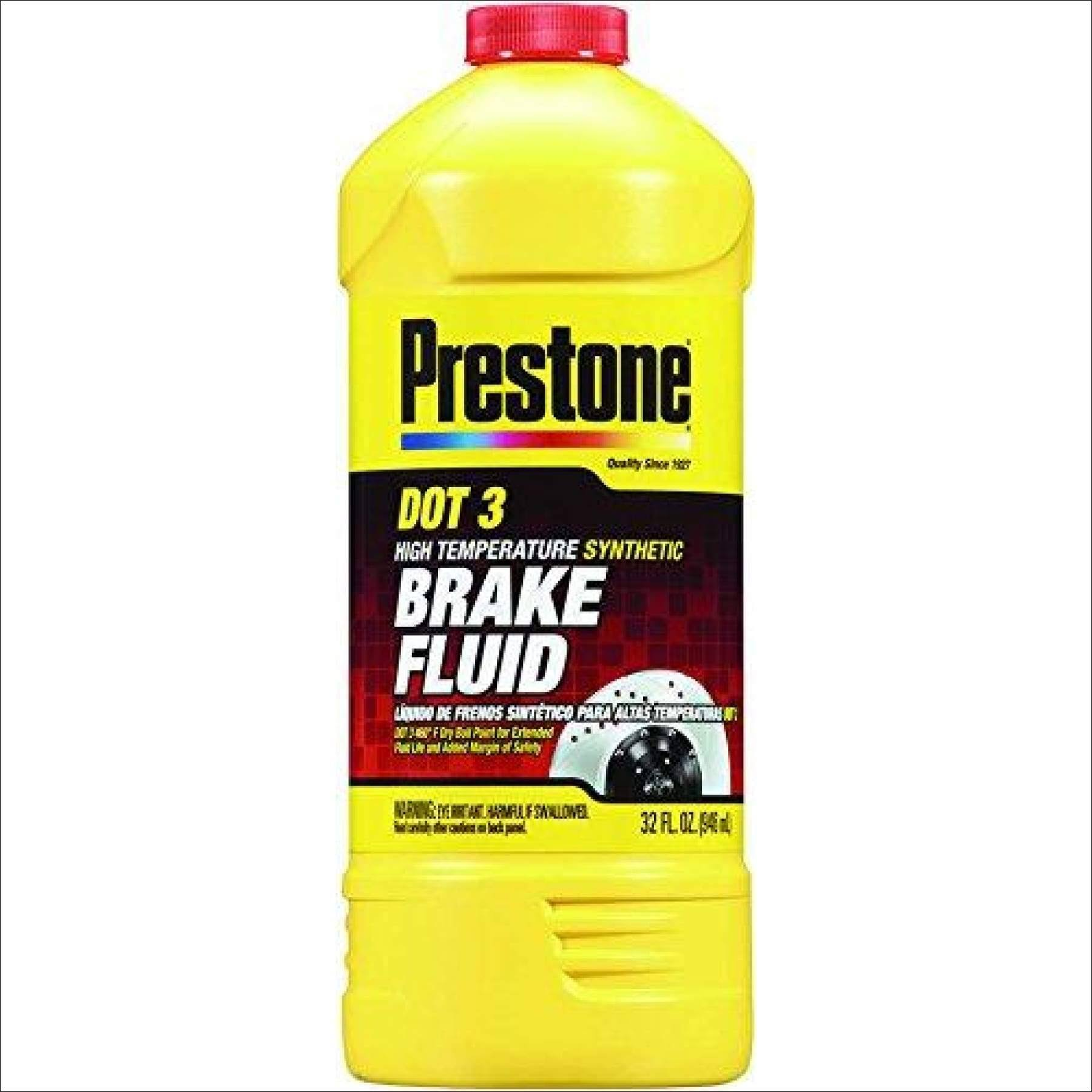 Prestone Dot 3 Synthetic Brake Fluid - 32oz