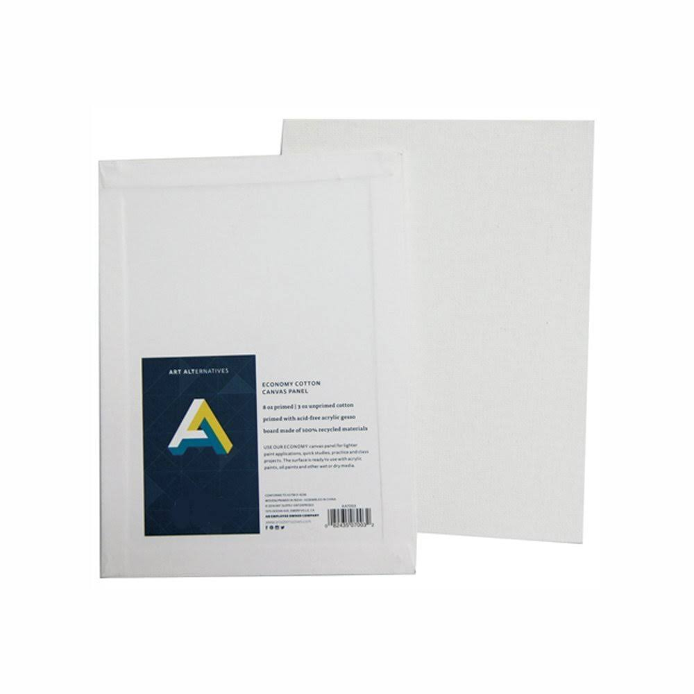 Canvas Panel 6x6 Pack of 12, White