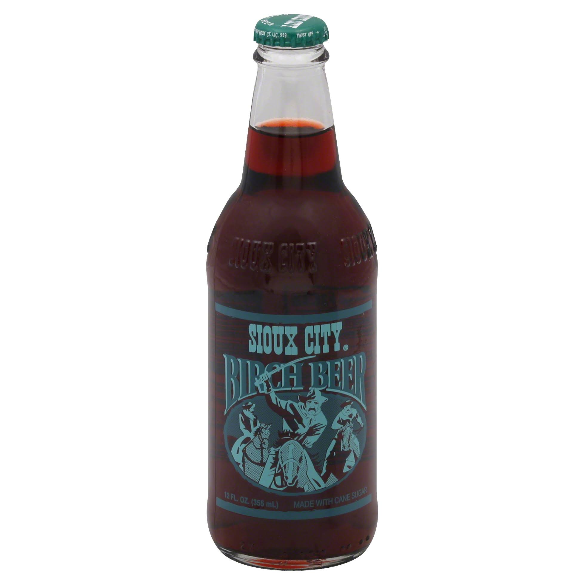 Sioux City Birch Beer - 12 fl oz