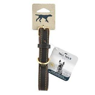 Tall Tails 88217046 CC Leather Dog Collar - Large