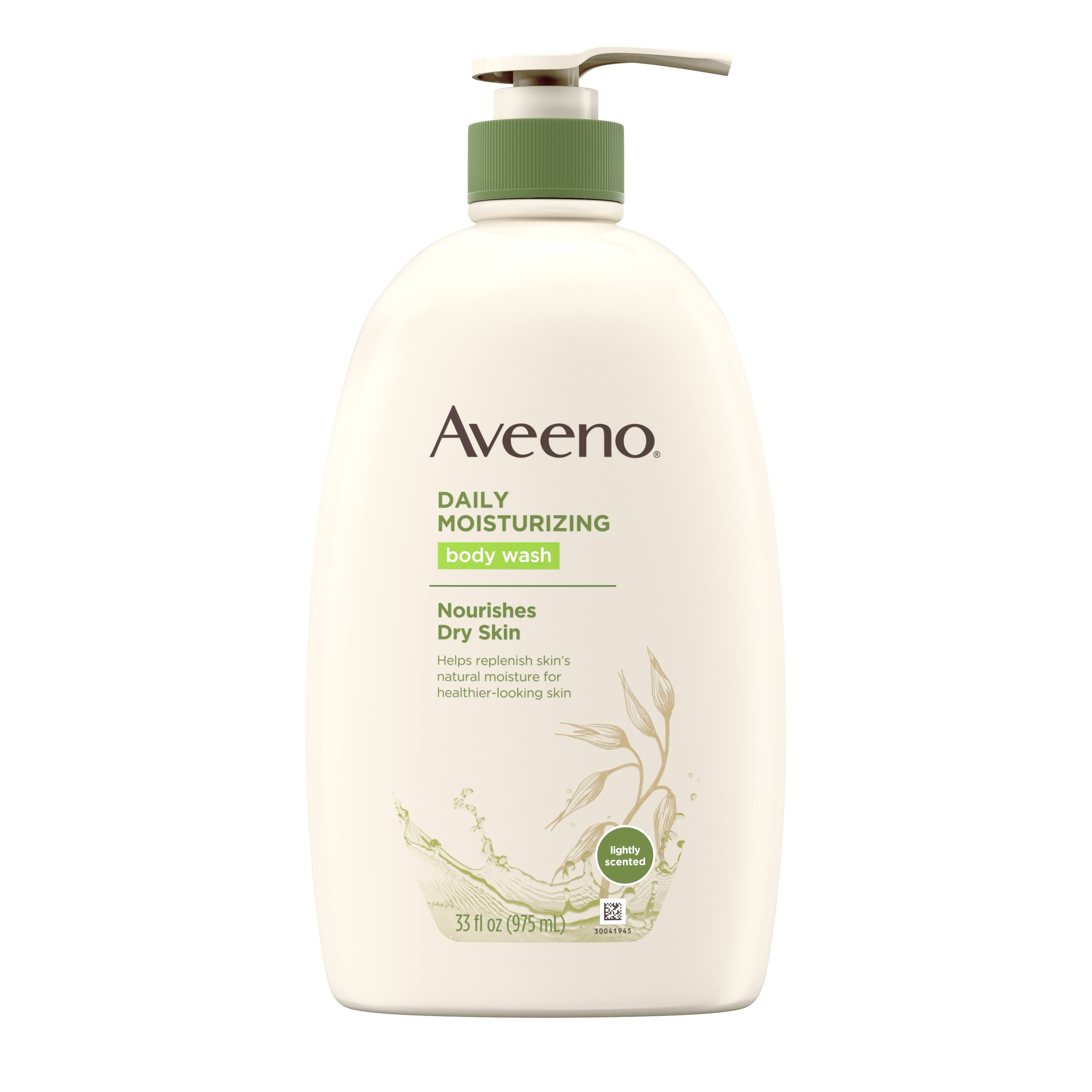 Aveeno Active Naturals Daily Moisturizing Body Wash - 33.8oz
