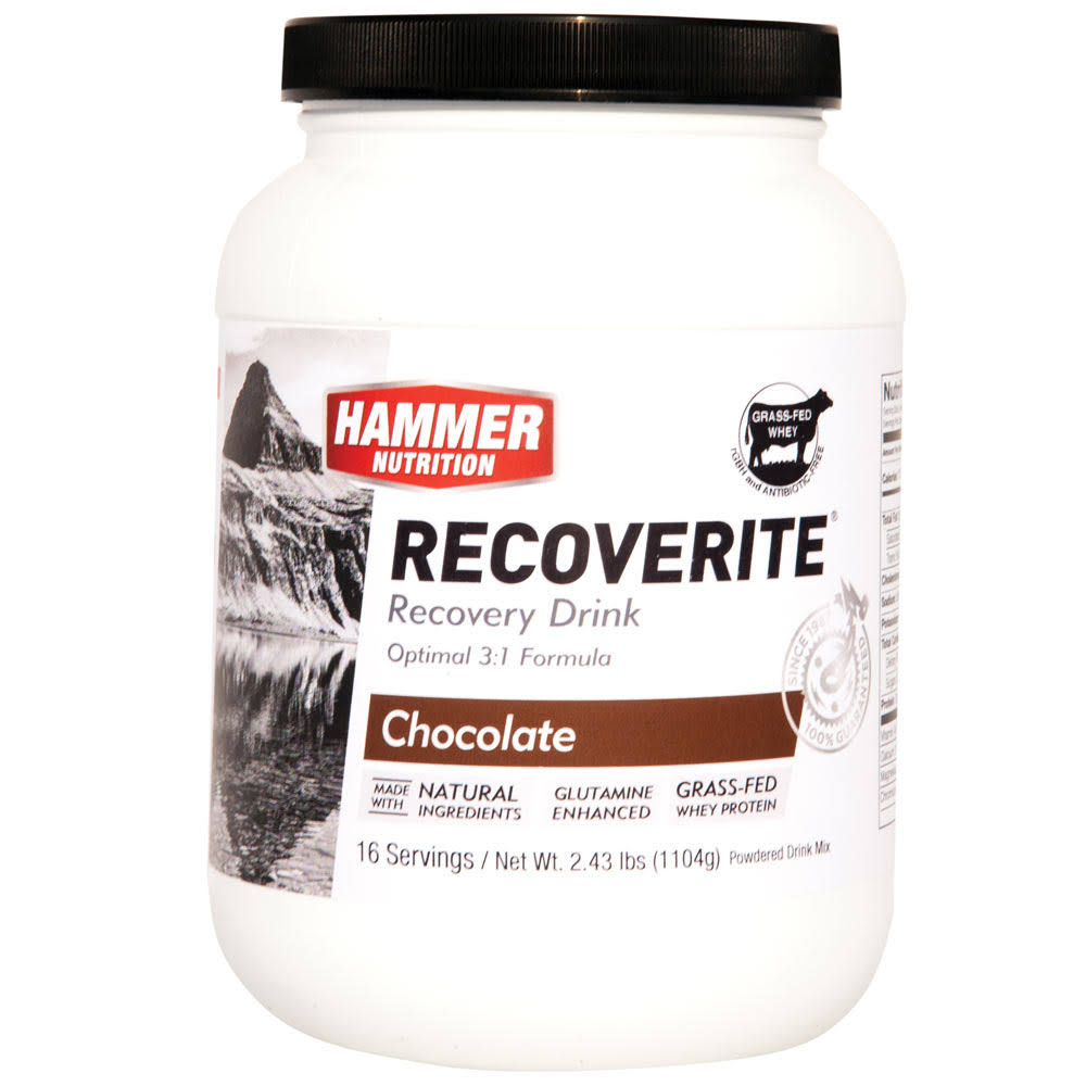 Hammer Nutrition Recoverite - Chocolate, 16 servings