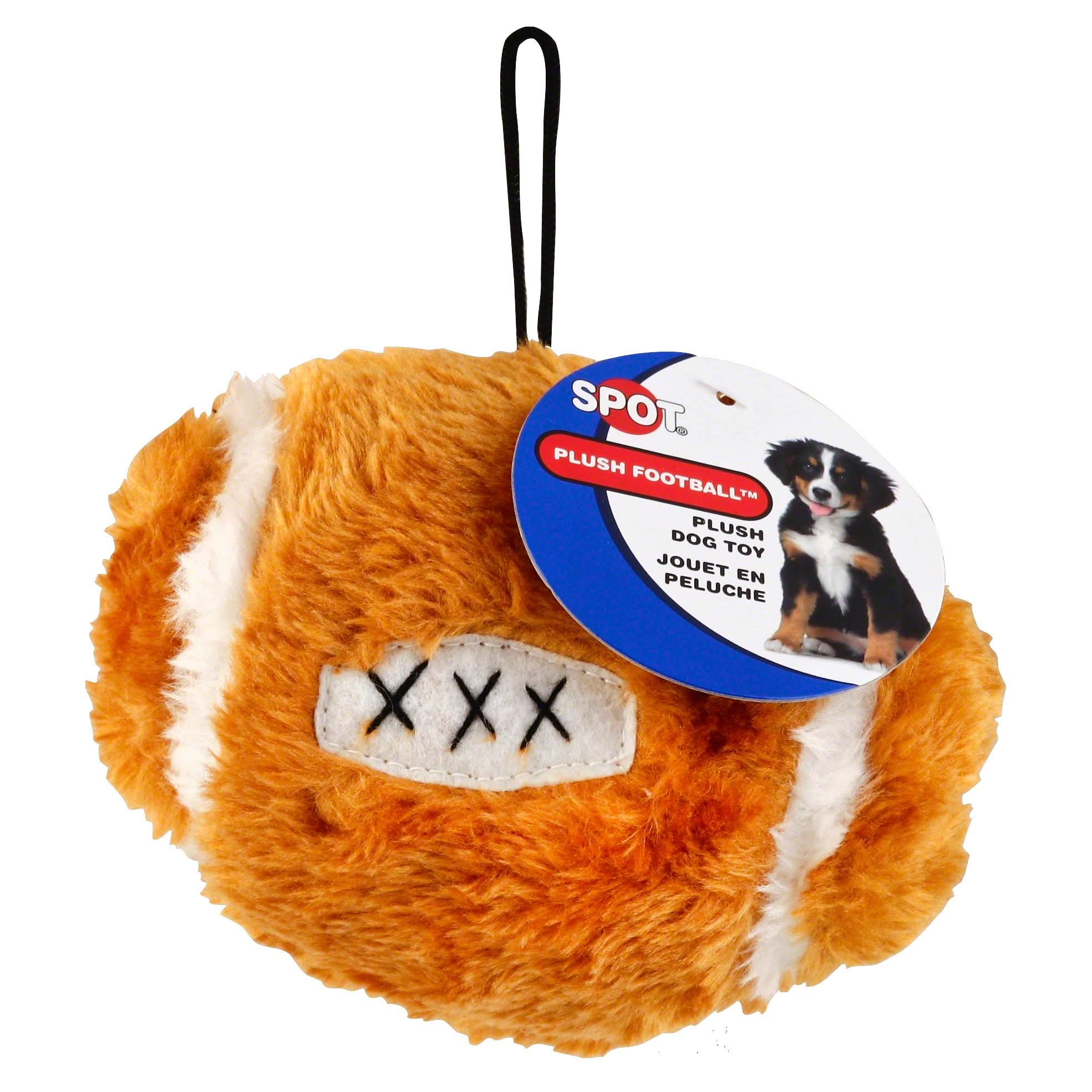 Ethical Pets Plush Football Dog Toy - 4 1/2""