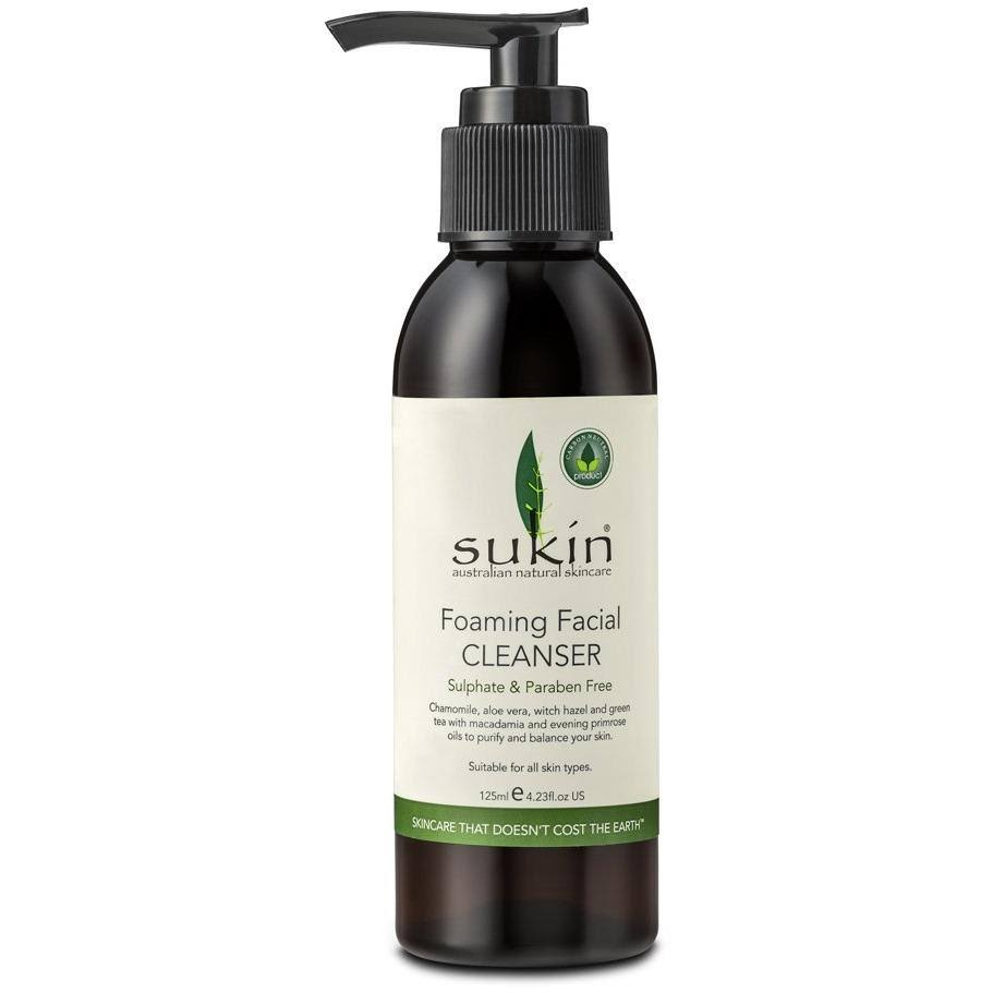 Sukin Foaming Facial Cleanser Pump