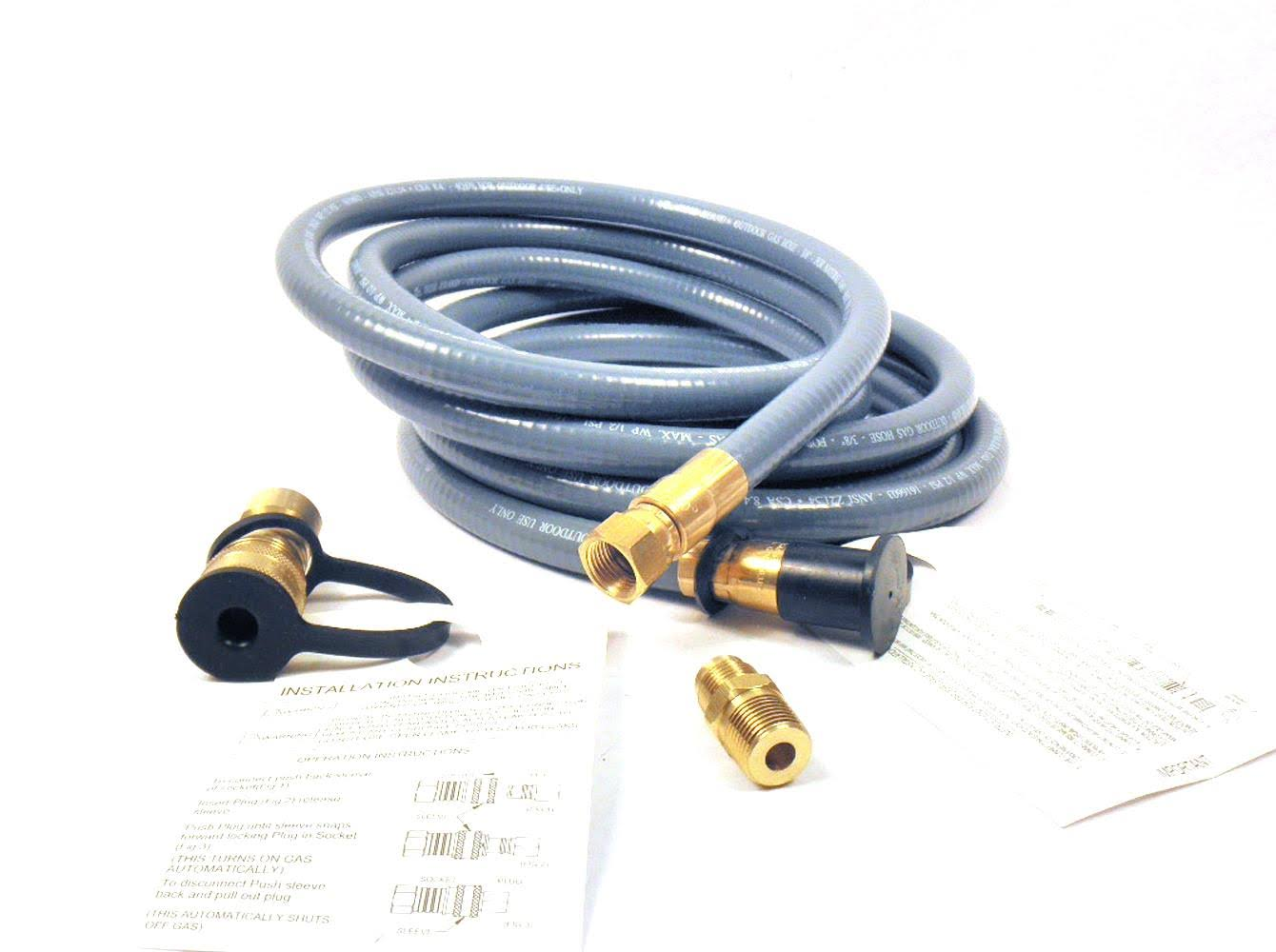 Mr. Heater Natural Gas Hose Assembly - 12'
