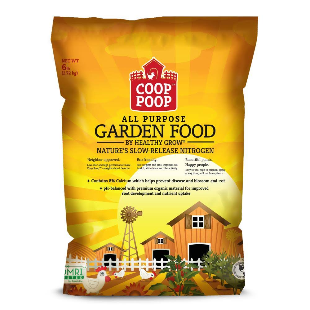 Coop Poop All Purpose Lawn and Garden Food - 40lbs