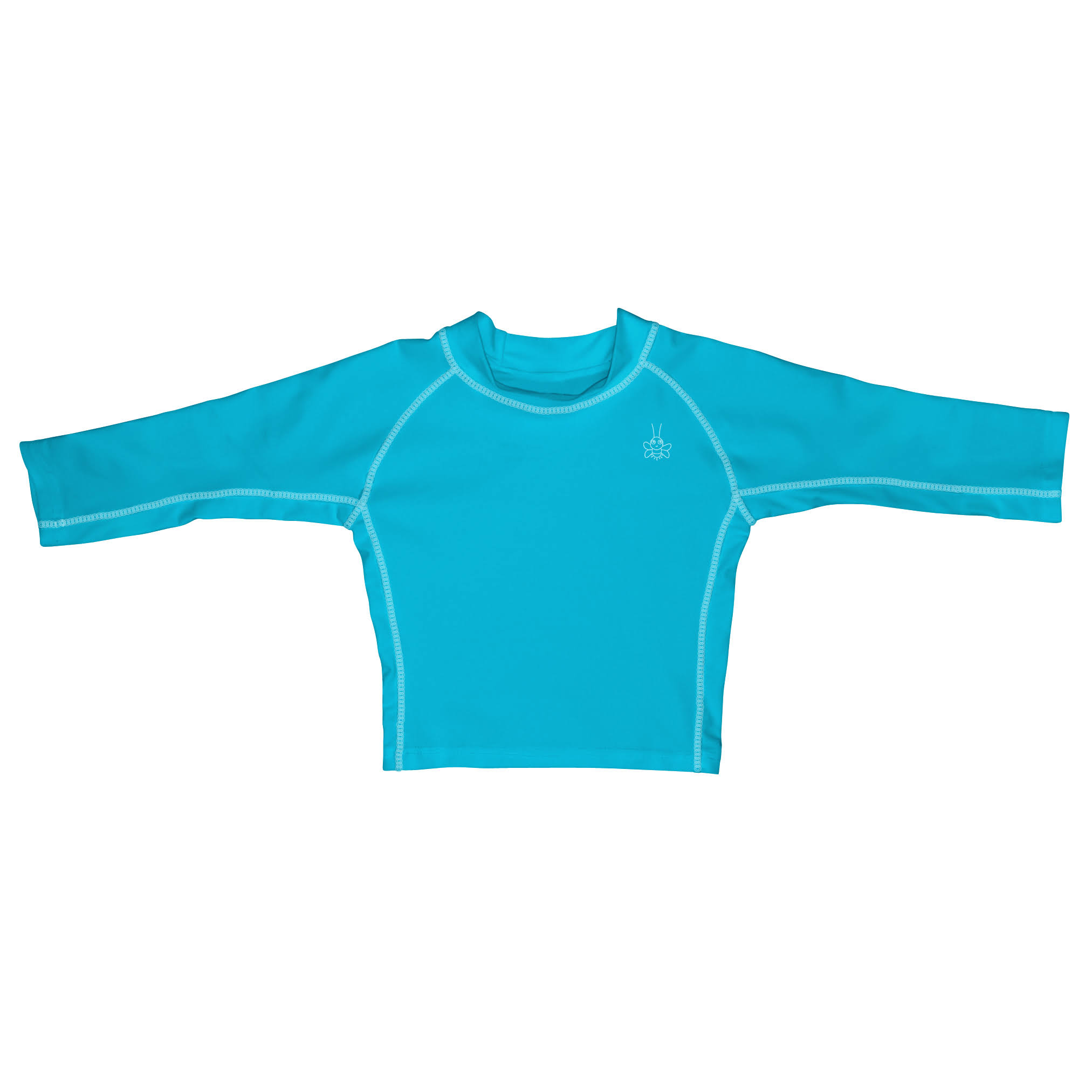 I Play - Long Sleeve Rashguard - 18M - Aqua
