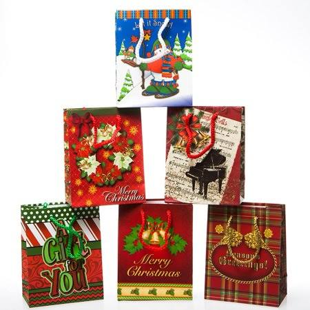 Small Seasons Greetings Gift Bags