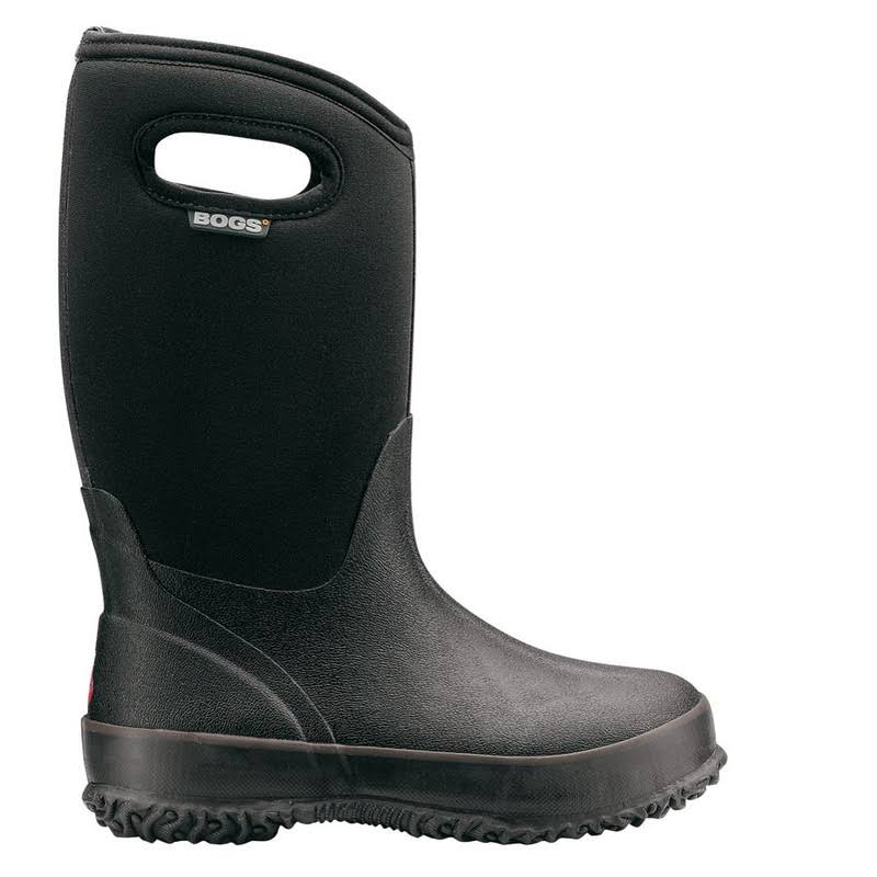 Bogs Kids Classic High Winter Snow Boot - Black, 10 M US Toddler, Toddler 1-4 Years