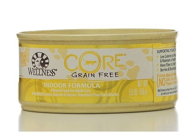 Wellness Core Cat Food - 5.5oz, Grain Free, Indoor Formula