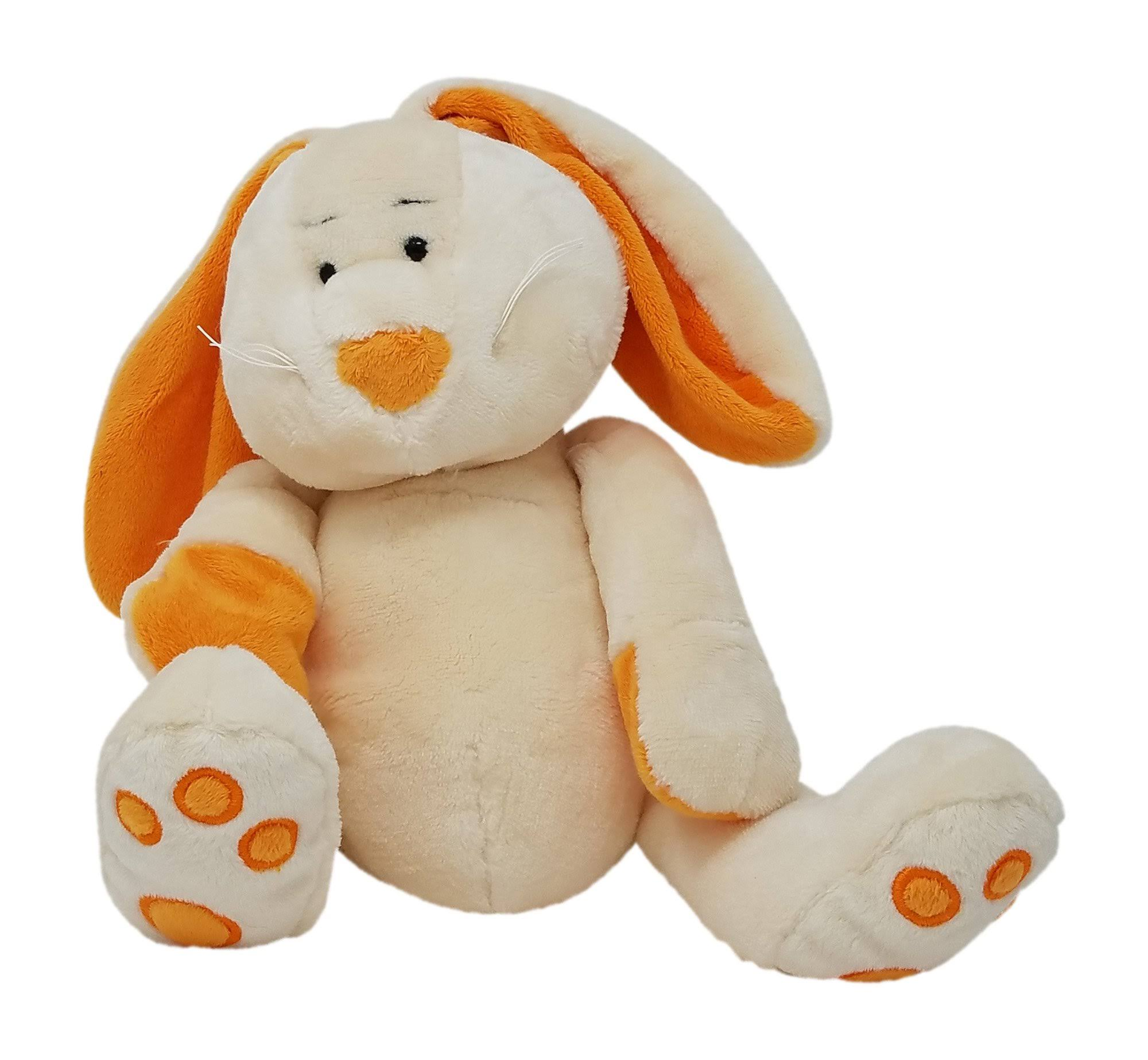 Ganz HE10200 Plush Bunny, Cream Plush