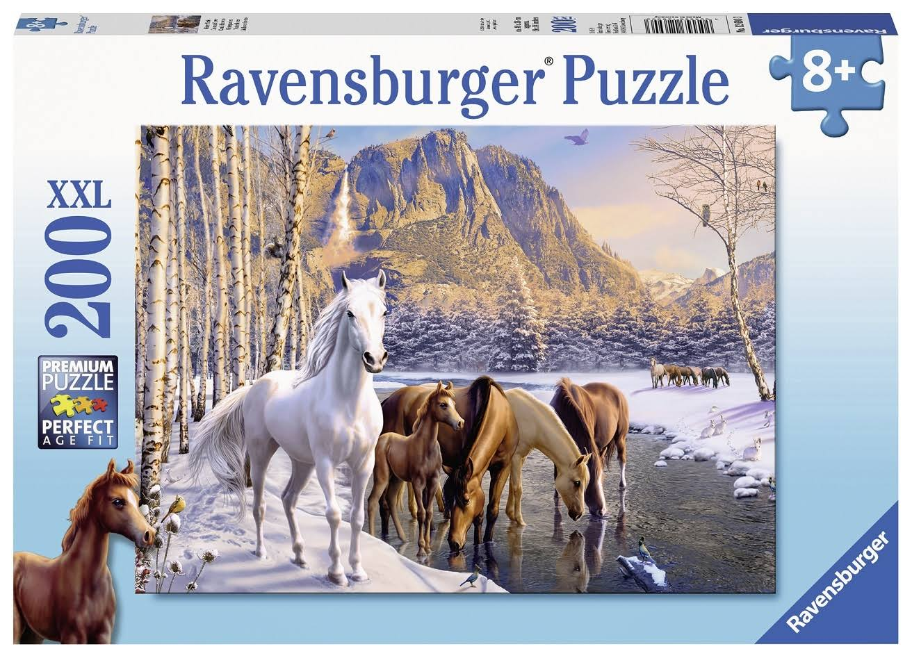 Ravensburger Winter Horses Jigsaw Puzzle - 200pcs