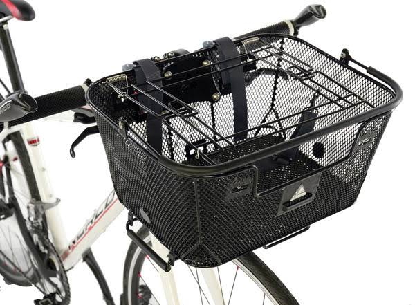 Axiom Rack/Handlebar Pet Basket - Black