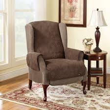 Walmart Living Room Chair Covers by Furniture Decorative Walmart Rugs With Brown Wingback Recliner
