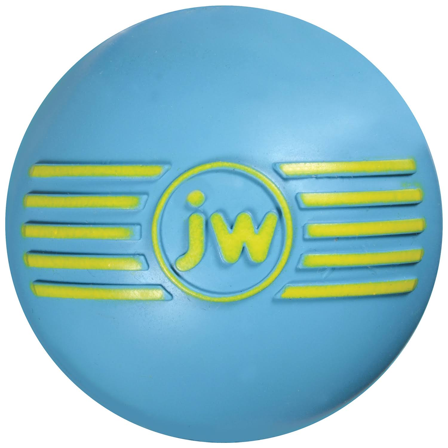 JW Pet Company iSqueak Ball Rubber Dog Toy - Small, Colors Vary