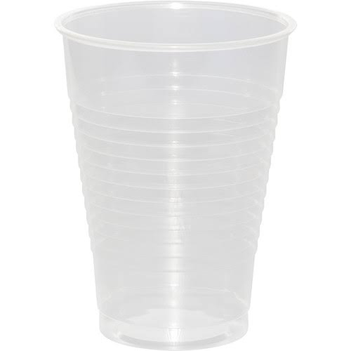 Creative Converting Touch of Color Plastic Cups - Clear, 20 x 16 Oz Pack