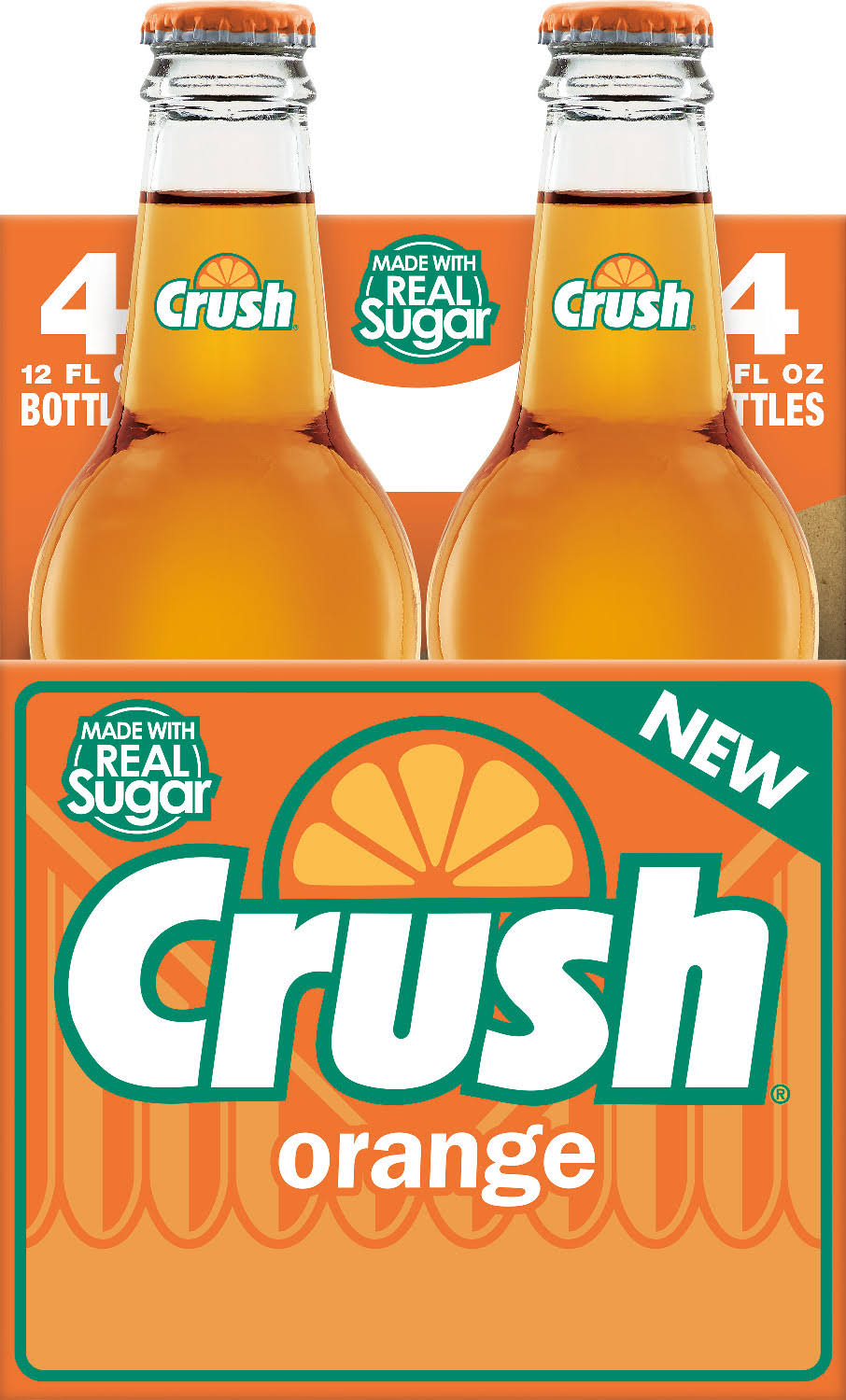Crush Orange Soda - 12oz, 4ct