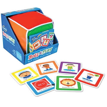 Think Fun Roll and Play Pre School Game