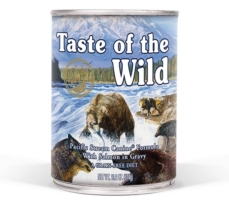 Taste of The Wild Pacific Stream Dog Food - Smoked Salmon in Gravy