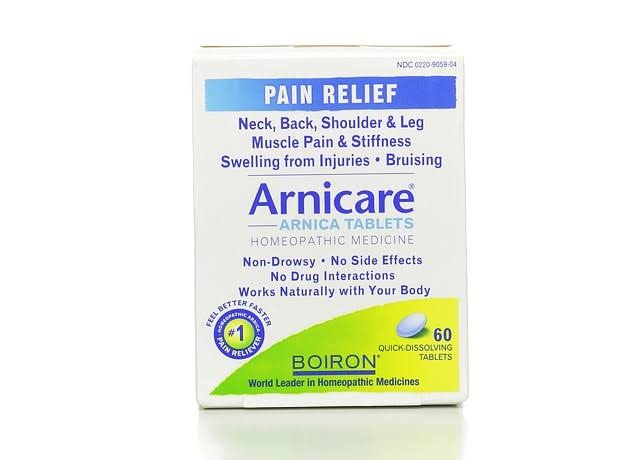 Arnicare Pain Relief, Quick-Dissolving Tablets - 60 tablets