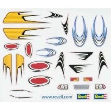 Revell Pinewood Derby Peel & Stick Decals