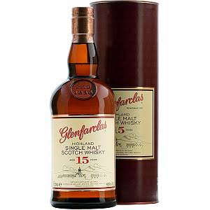 Glenfarclas Highland Single Malt Scotch Whisky - Aged 15 Years, 700ml