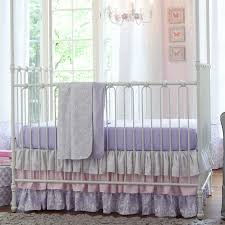 Lavender And Grey Bedding by Giveaway Crib Bedding Set From Carousel Designs