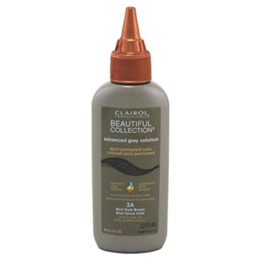 Clairol Professional Beautiful Collection Advanced Gray Solution - Rich Dark Brown