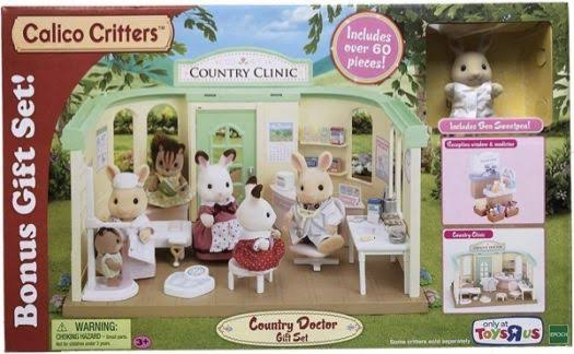 Calico Critters Country Doctor Gift Set
