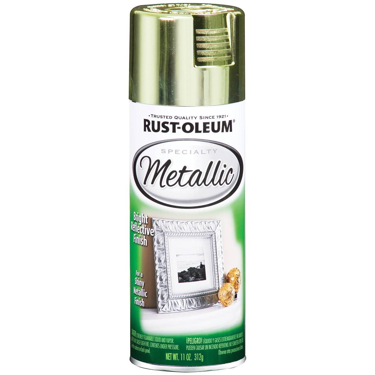 Rust-Oleum Metallic Spray Paint - 11oz, Brass