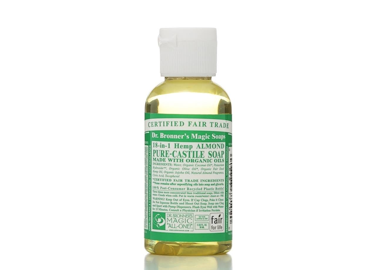 Dr. Bronner Pure Castile Liquid Soap - Almond