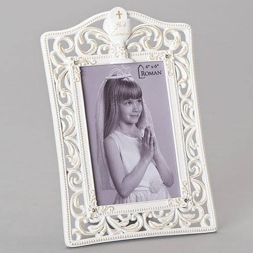 Roman Communion Photo Frame