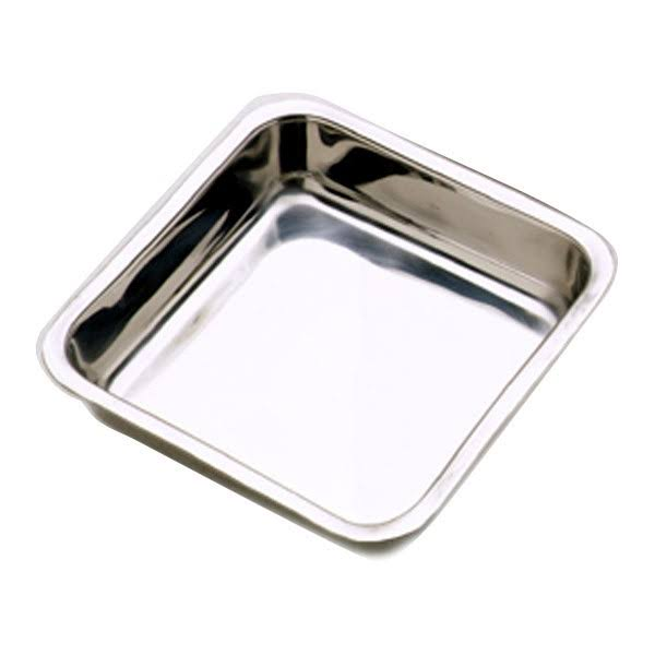Norpro Square Cake Pan - Stainless Steel, 20 cm