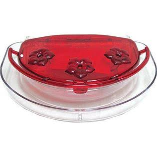 Aspects Inc Jewel Box Window Hummingbird Feeder - Red, 8oz