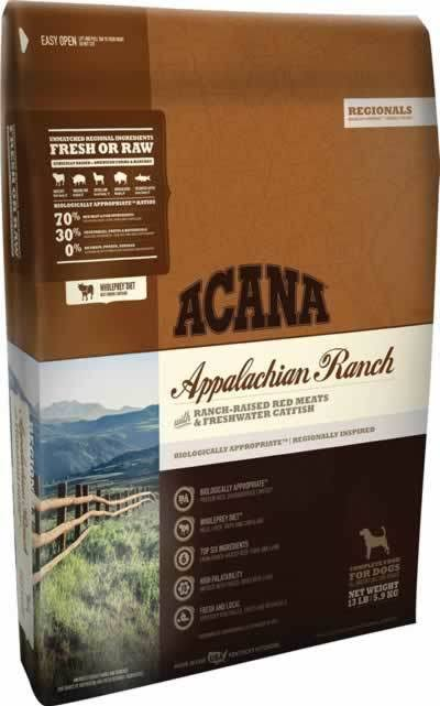 ACANA Regionals Appalachian Ranch Dry Dog Food 13 lbs