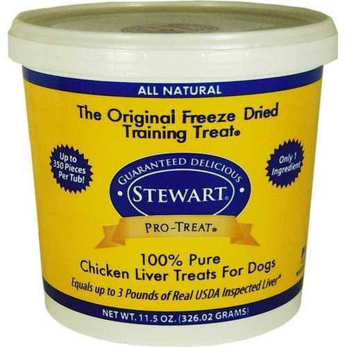 Stewart Freeze Dried Liver Treats for Dogs - Chicken Liver