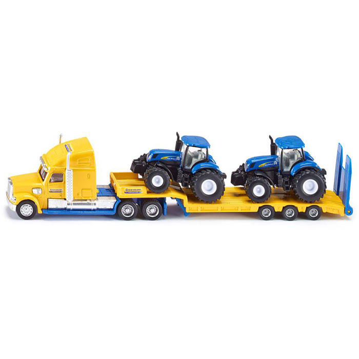 Siku Super Truck & Two Holland Tractors Model - 1:87 Scale
