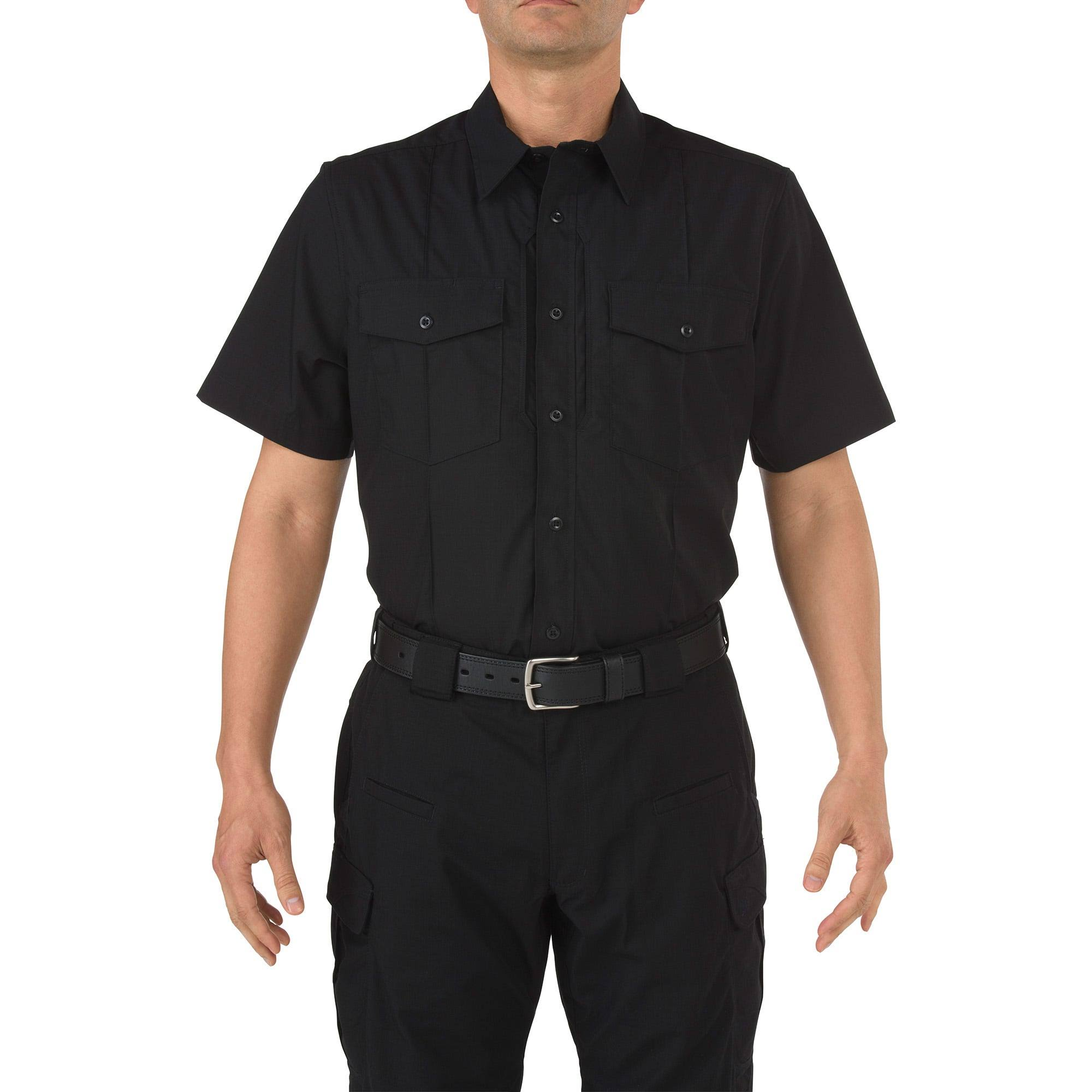 5.11 Short Sleeve Stryke PDU Class B Shirt, Men's Black