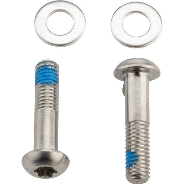 Sram Flat Mount Disc Caliper Bracket Bolts - Stainless Steel, 22mm