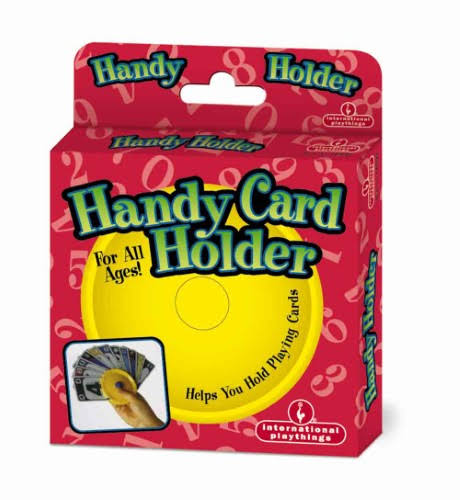 International Playthings Handy Card Holder