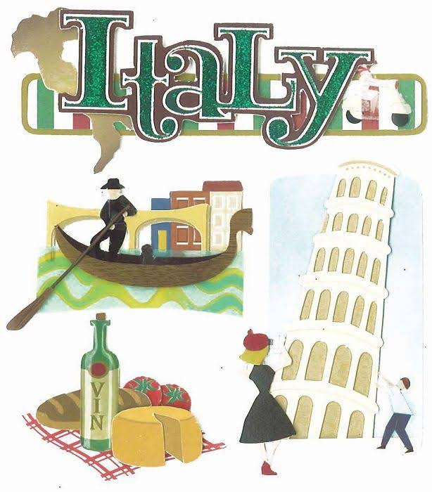 Jolee's Boutique Dimensional Stickers - Italy